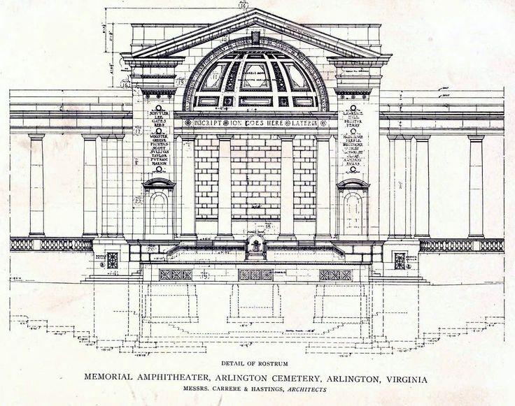 The Memorial Amphitheater, Arlington Cemetery