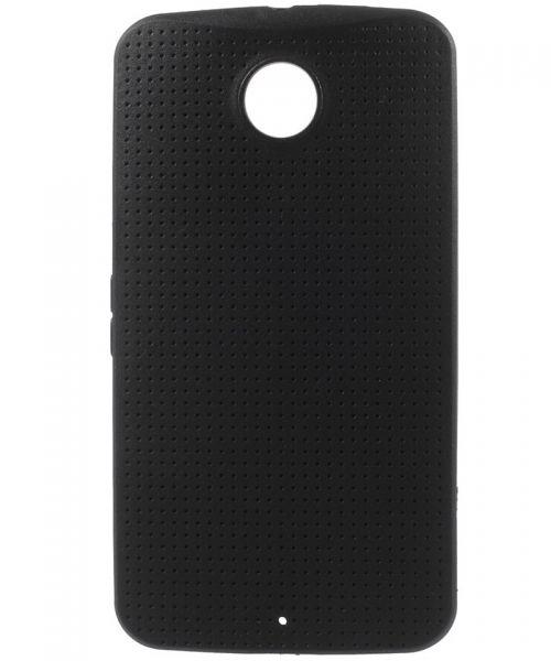 Motorola Nexus 6 TPU Case Zwart