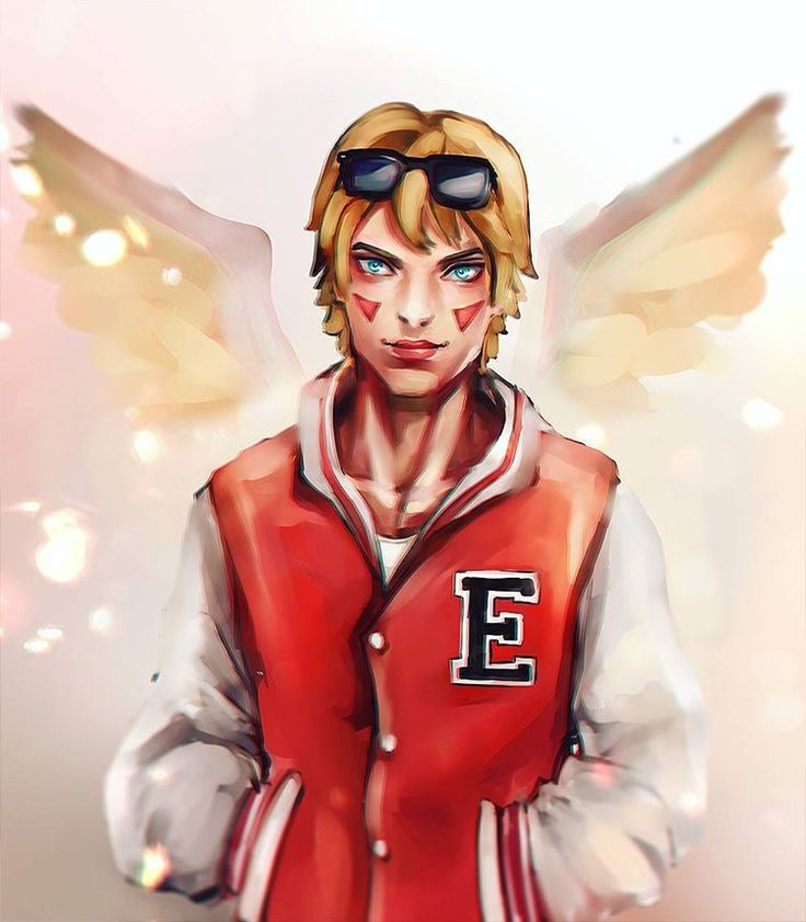 """Bianca Pallini su Instagram: """"Had really a lot of fun painting ahri, so here's an original academy version of Ezreal  Does he look good to you?  (Tomorrow will post a video with the process, so keep watching!) #ezreal #lol #leagueoflegends #riot #guy #drawing #digitalart #art #wings"""""""