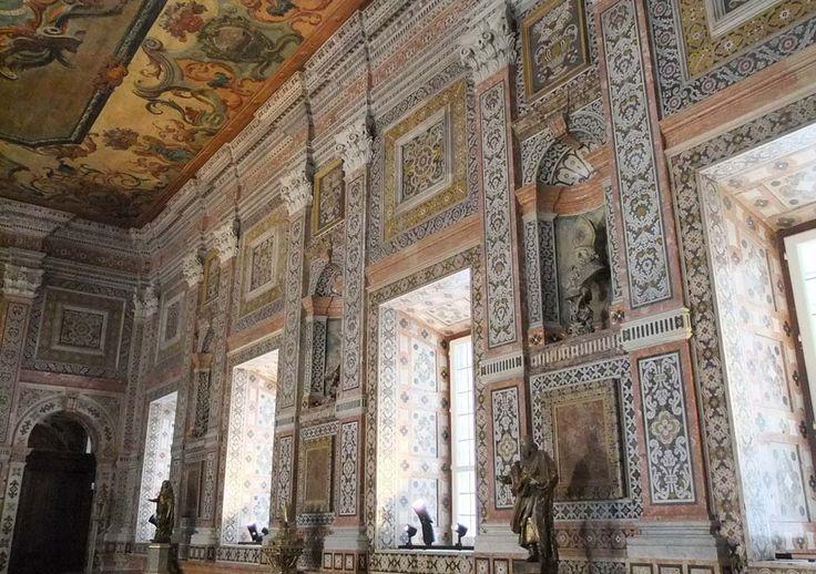 Lisbon Tiles. Church of São Vicente Monastery. Lisbon.