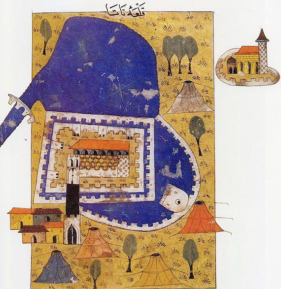 Matrakçı Nasuh- Fortress of Tata - Estergon Kalesi'nin Fethi-1543