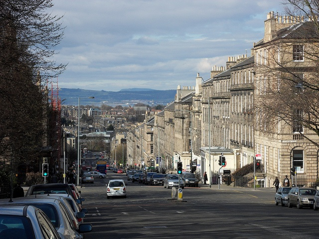 Dundas Street, Edinburgh, where Isabel has her coffee (streets in the 44 SCOTLAND Street series)