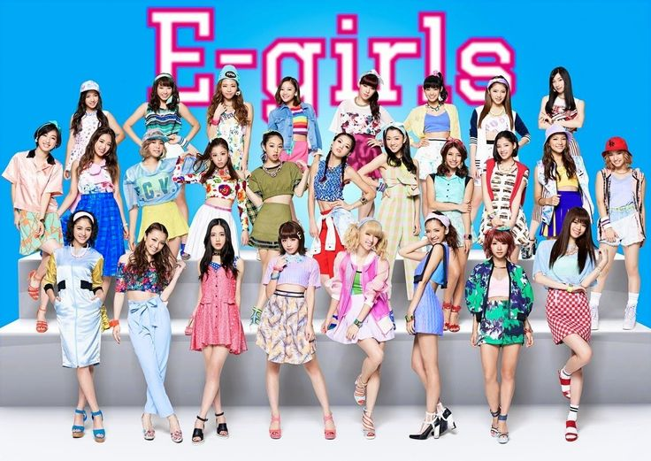 E-girls #Fashion #Jpop