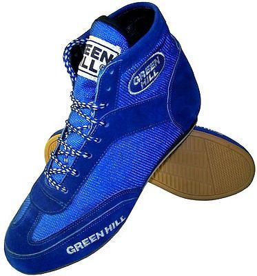 Greenhill #boxing shoes professional suede #leather #sport boots light weight mes,  View more on the LINK: 	http://www.zeppy.io/product/gb/2/271277777982/