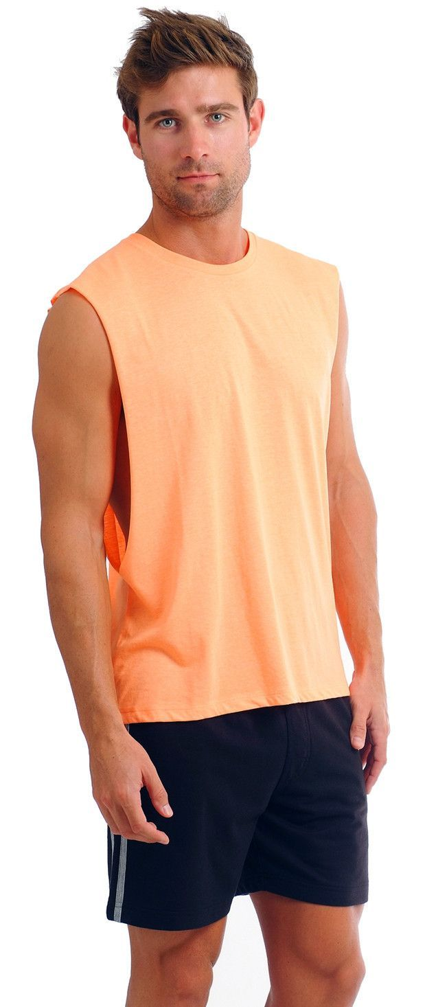 Our Men's muscle tank is one of our favorite tanks tops for men. This is
