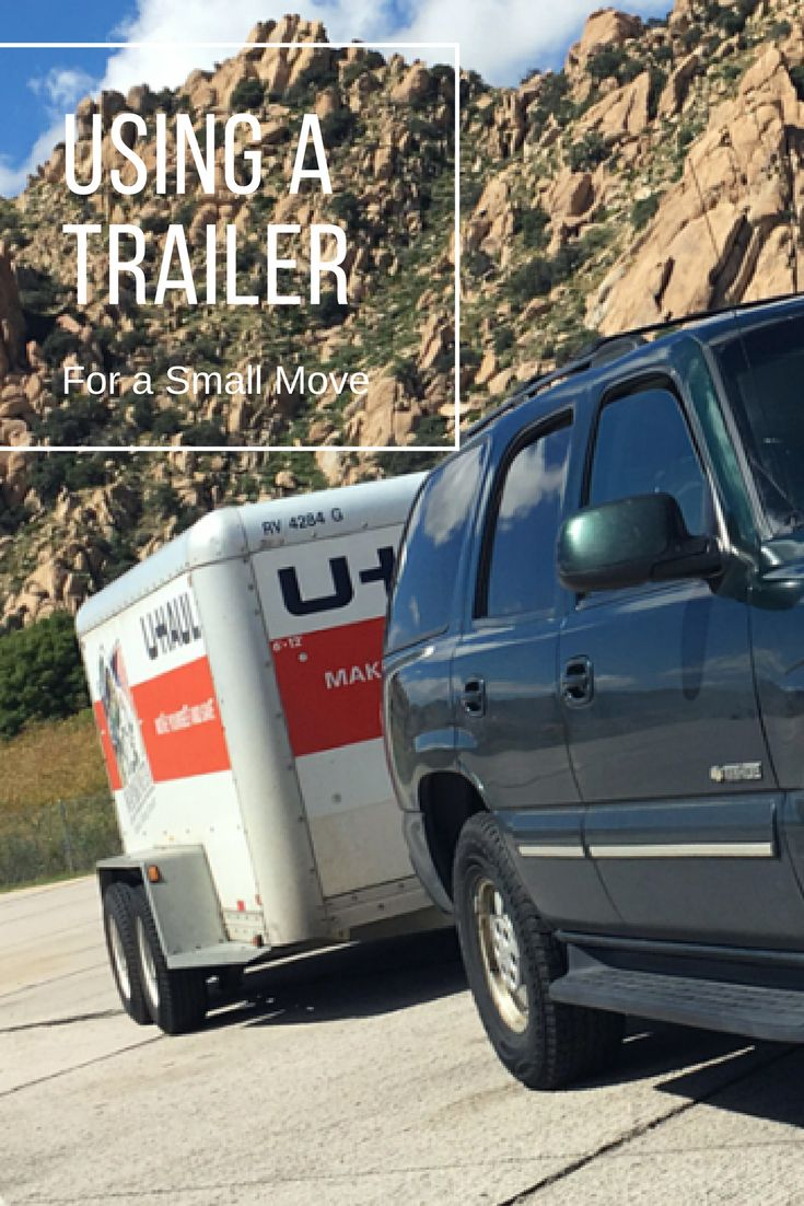 You can use any size cargo trailer that you feel will best fit your belongings, but the two most commonly used cargo trailer sizes for small moves are the 5x8 and 6x12 cargo trailers. Both of these cargo trailers offer moving solutions for young professionals, minimalists, newlyweds or college movers. | Planning for a Move
