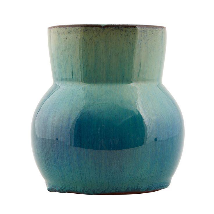 Flower Vas 15cm, Aqua, House Doctor