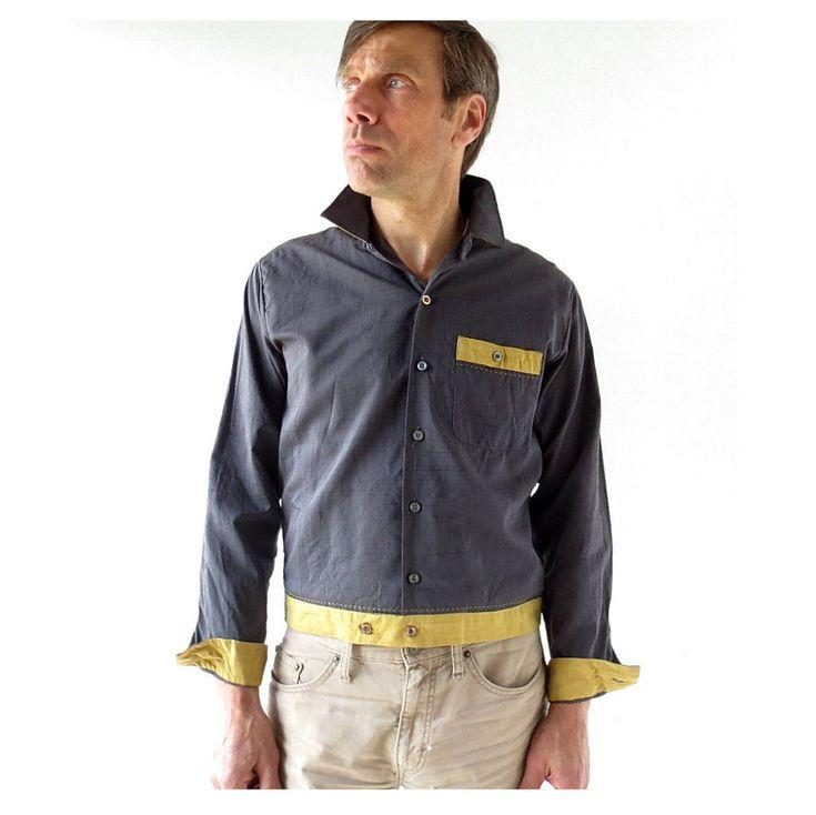 50s Men's Shirt | Rockabilly Shirt | 1950s Shirt | Medium M by SmallEarthVintage on Etsy https://www.etsy.com/listing/514685006/50s-mens-shirt-rockabilly-shirt-1950s
