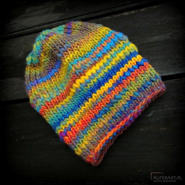 Bajka 3 / kolorowa czapka - Czapki, berety - Ubrania