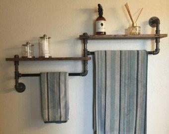 Best 25 Bathroom Towel Racks Ideas On Pinterest  Wood Beauteous Bathroom Towel Bar Design Ideas
