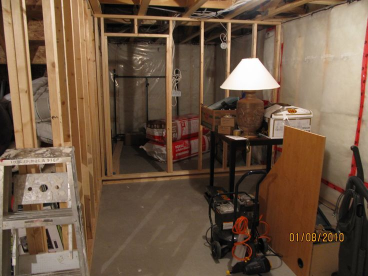 How to Frame a Floating Basement Wall by yourself
