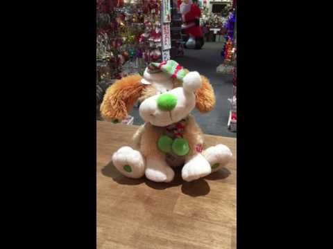 Shoutin' Sam. You Know You make Me Want To Shout!! Sing a long with Sam, this adorable Christmas Dog with his Jingle Ears. See more on our Facebook page. https://www.facebook.com/Christmas-360-308734315861567/