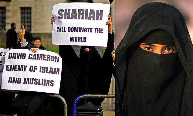 BRITISH females are being sentenced to lives of misery by Muslim courts | Daily Mail Online