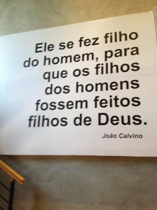 Somos filhos de Deus!