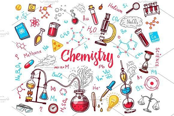 Chemistry icons doodle set | Drawing book pdf, Science doodles, Chemistry