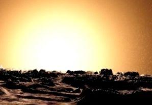Меркурианский пейзаж