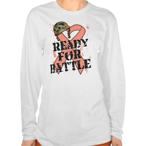Endometrial Cancer Ready For Battle T Shirt This site is will advise you where to buyShopping Endometrial Cancer Ready For Battle T Shirt please follow the link to see fully reviews...
