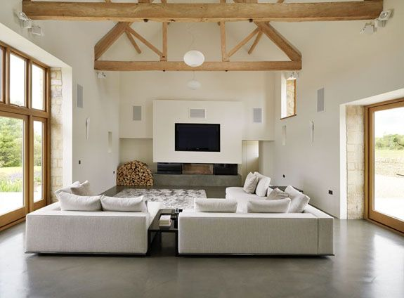 Eco barn conversion bulthaup by Kitchen architecture #kitchens