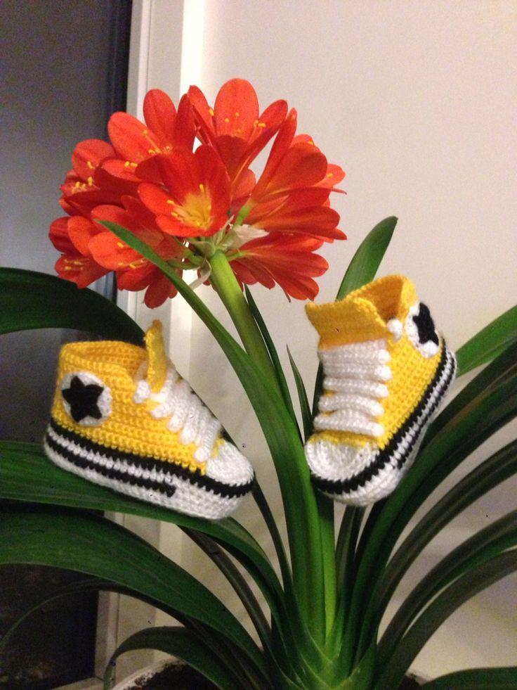 Yellow Converse