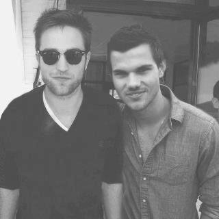 Robert Pattinson and Taylor Lautner
