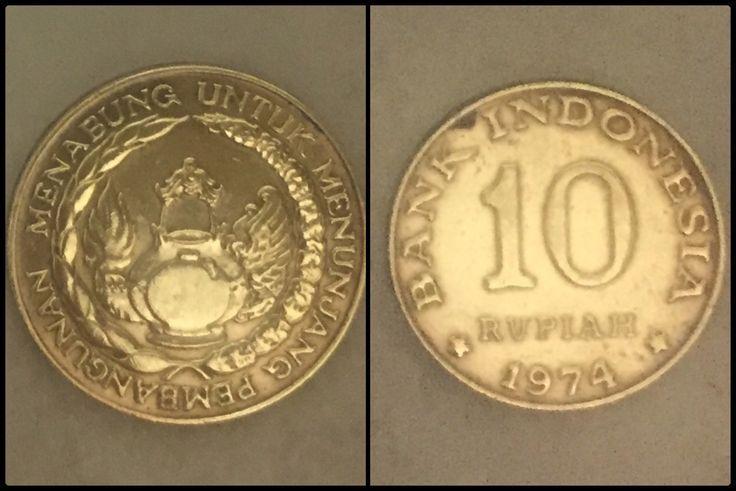 Koin 10 rupiah indonesia – #Indonesia #koin #rupia…