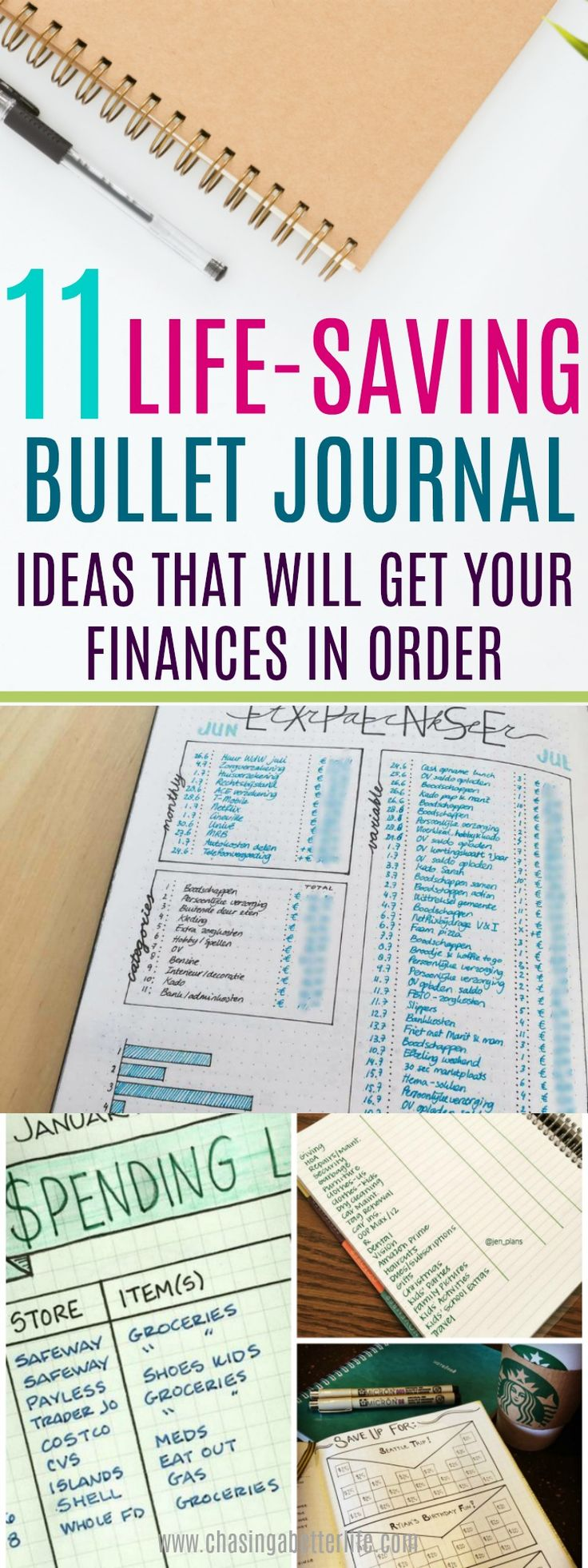These will totally help me get my finances in order! I can't wait to incorporate these into my bullet journal.
