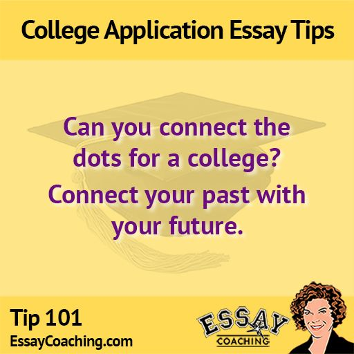 Connect the dots 52 College Application Essay Writing Tips - college application essay