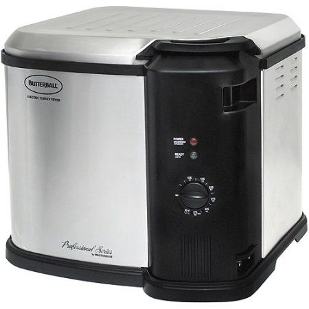 Butterball Electric Turkey Fryer, Stainless Steel (23011014), Gray