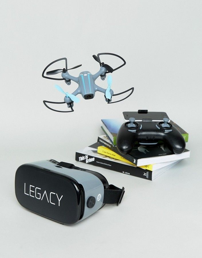 Arcade Auto Hovering HD Camera Drone With VR Headset  Hovering HD camera drone, Live stream to your device and control with your smartphone, HD 720p wide angle camera, VR headset included for first person view functionality, Lightweight with built-in powerful motors, 360 degree flips and rolls function, Three adjustable speeds, Includes Remote control, Comes with battery for drone, x4 GB micro SD card, x4 blade guards and spare parts box.