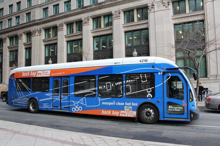 Massport bus services  Logan Airport