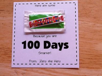great treat for the 100th day of school