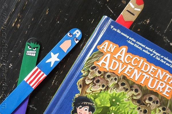 Avenger Inspired Bookmarks