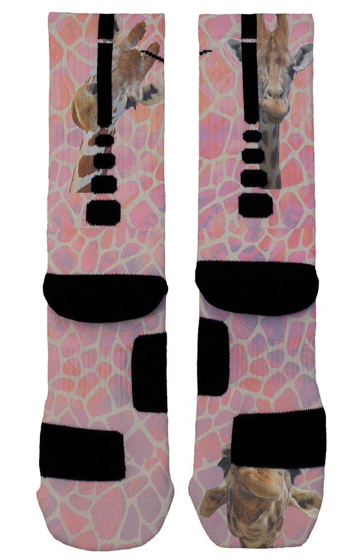 Giraffe Custom Nike Elites