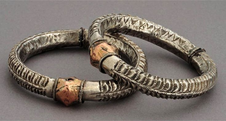 Indonesia ~ Gayo Alas (southern border of Aceh) | Bracelets; silver and suasa ||| Source; Ethnic Jewellery from Indonesia: Continuity and Evolution. Bruce W Carpenter. Pg 60
