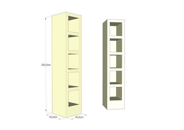 Estanter a expositor con luz led display shelf with led - Estanterias con luz ...