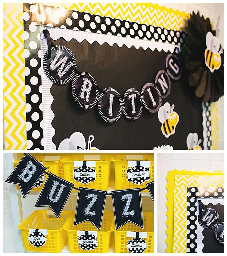 Chalkboard And Polka Dot Inspiration Two Years Ago I Created The First Classroom