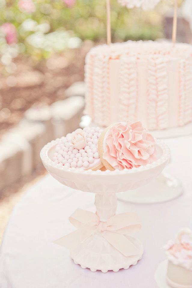 Pink tea party