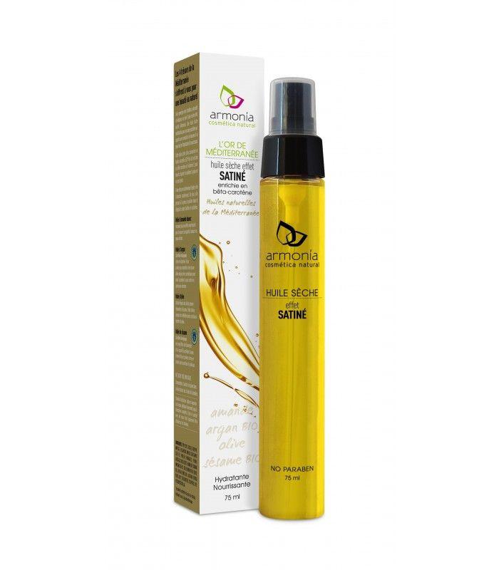 Aceite seco del Mediterráneo / Hidratante con efecto satinado.