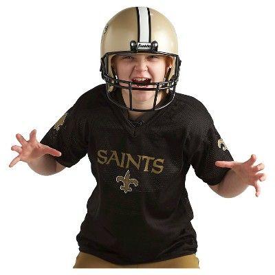 Franklin Sports NFL New Orleans Saints Deluxe Uniform Set, Kids Unisex, Size: Medium