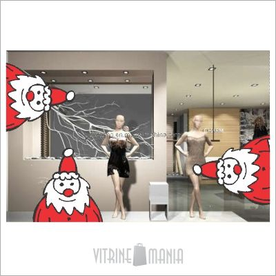 15 best vitrine mania adesivos de vitrine natal images on pinterest store windows stickers. Black Bedroom Furniture Sets. Home Design Ideas
