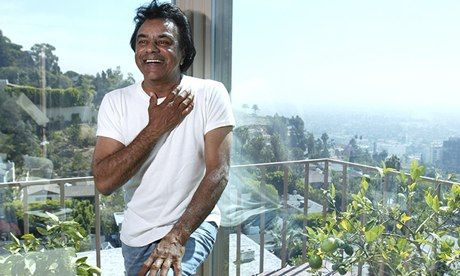 Johnny Mathis at home in Beverly Hills: 'Our family are a little reserved in our emotions.' Photograph: Stuart Conway/Camera Press