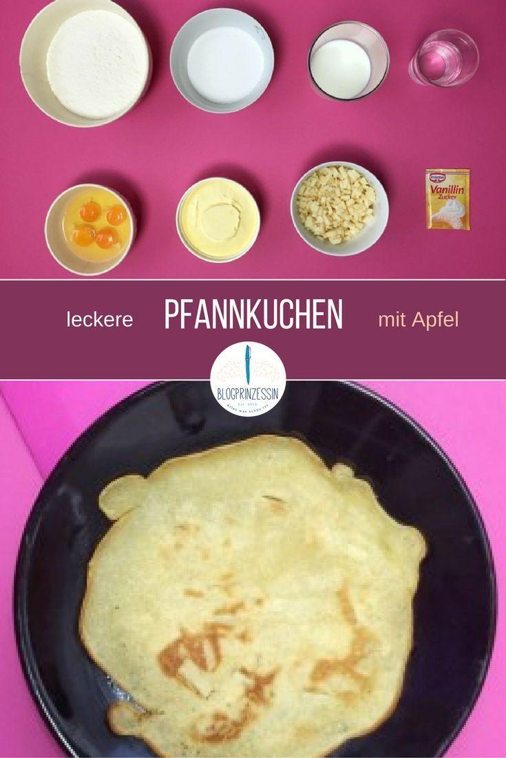 Leckere Pfannkuchen machst du mit diesem Grundrezept ganz schnell selber. Für die Pfannkuchen brauchst du nur 8 Zutaten und eine Pfanne. Eignet sich auch gut für Kindergeburtstage oder den Sonntagsbrunch. http://blogprinzessin.de/2016/01/30/schnelles-pfan