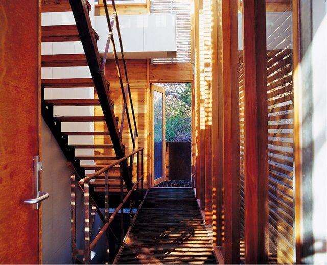 Sean Godsell/ Tucker House/ Entry area