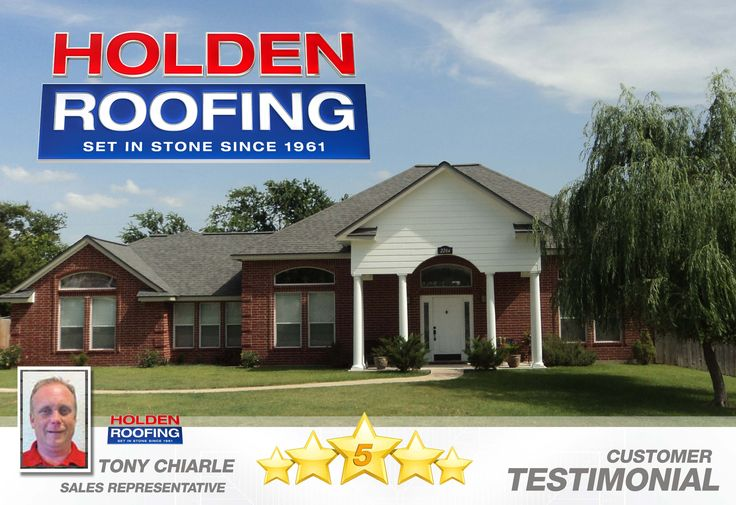 Holden Roofing Reviews by Anthony Chiarle Customer