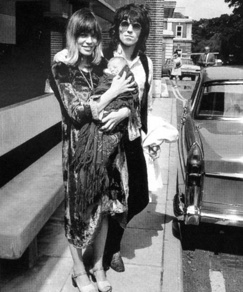 Anita Pallenberg & Keith Richards