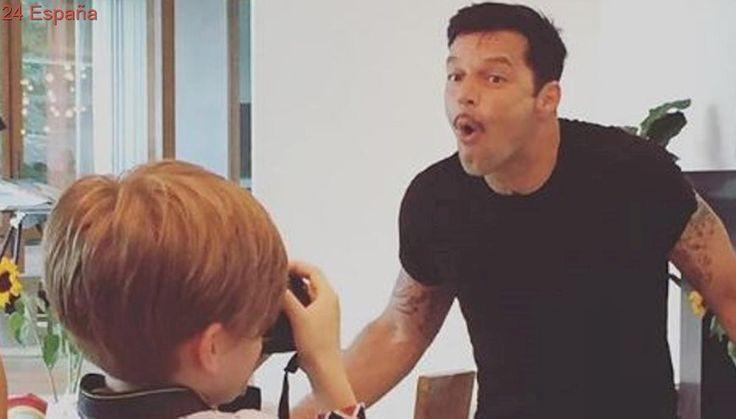 Ricky Martin posa para su fotógrafo más querido