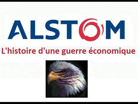Guerre économique et stratégique - La vente d'Alstom un cas d'école (enq...