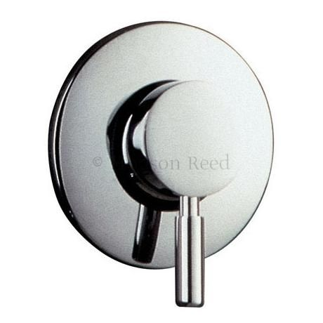 Hudson Reed Tec Single Lever Concealed & Exposed Manual Shower Valve - Chrome - A3200M £54.95