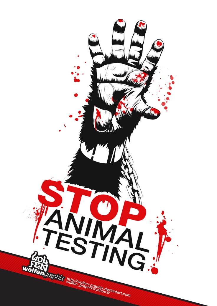 Stop animal testing. Use only cruelty free beauty and household products. I do and I save animals lives.