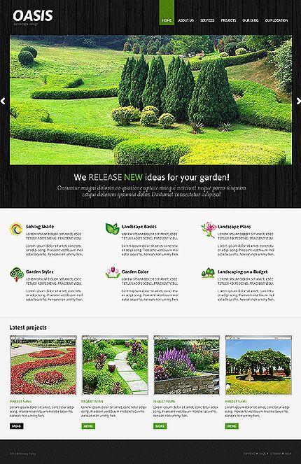 lawn service website template